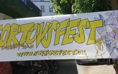 Husk Fortovsfest lørdag 25. maj